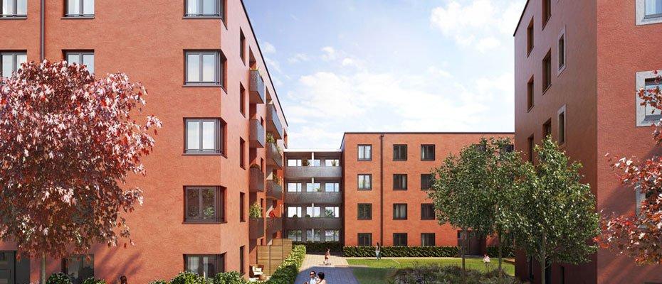 Luisen Grün - Neubau von 106 Eigentumswohnungen