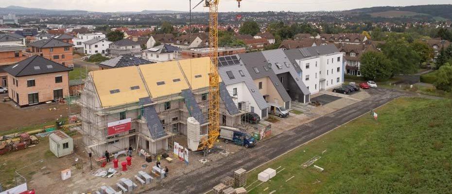 Individuelle Ausbauvarianten: Leben am Osterholzpark - Neubau von 16 Reihenhäusern