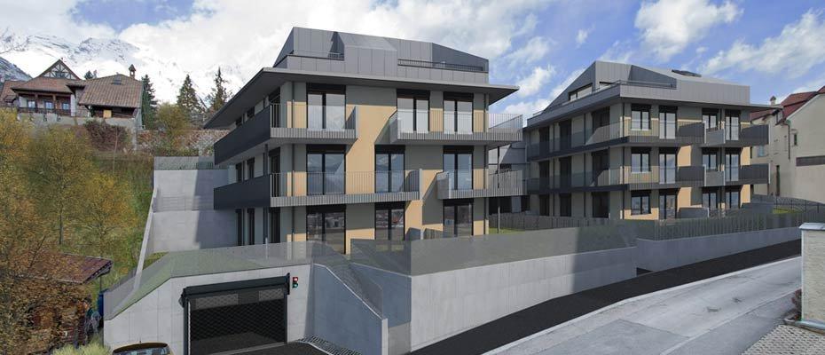 Neubauprojekt: Reimmichlstraße 2 in Hall - Neubau von 14 Eigentumswohnungen