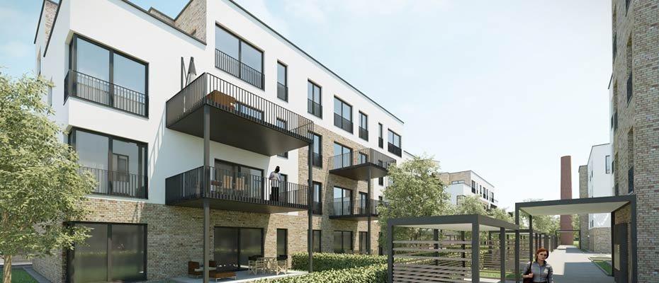 Neubauprojekt: STEINZEUGPARK - Neubau von 44 Eigentumswohnungen und 12 Reihenhäusern