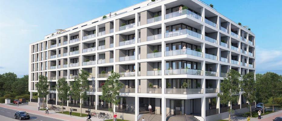 Neubau in Wilhelmshaven: Jadeallee 100 - Neubau von 49 Eigentumswohnungen