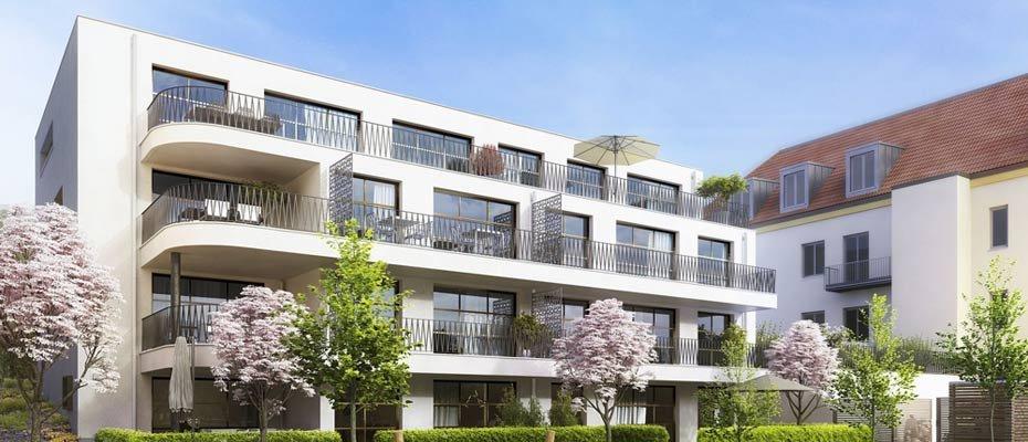 Neubau FLORA.2: urban Wohnen in Regensburg - Neubau von 17 Eigentumswohnungen