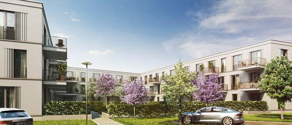 Neubauprojekt: DAS DÖRNBERG - Johanneshof 03 - Neubau von 77 Eigentumswohnungen