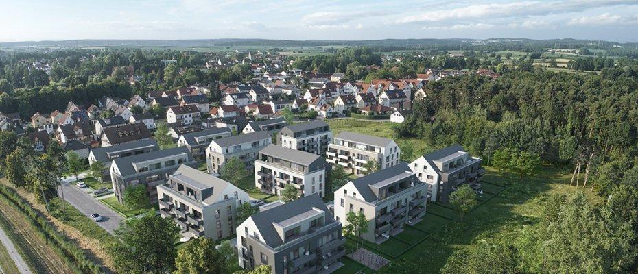 Neubau DAS LIMESQUARTIER: Wohnen an den Abens-Auen - Neubau von 28 Eigentumswohnungen