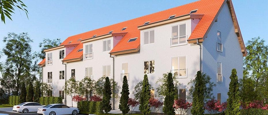 Neubauprojekt: Ferbitzer Weg in Wustermark - Neubau von 9 Eigentumswohnungen