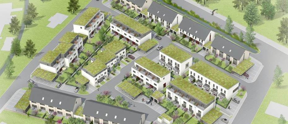 Neue Reihenhäuser für die ganze Familie: Im Storchengarten - Neubau von Reihenhäusern