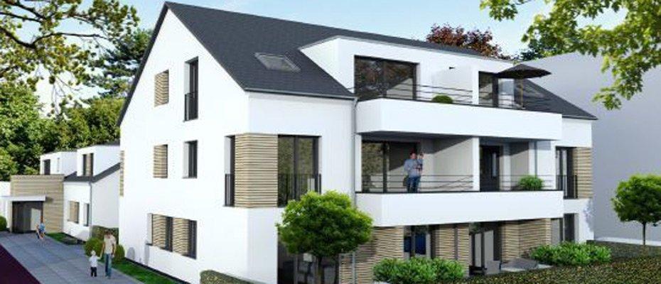 Neubau: Wohnen in Aachen-Haaren - Neubau von 12 Eigentumswohnungen