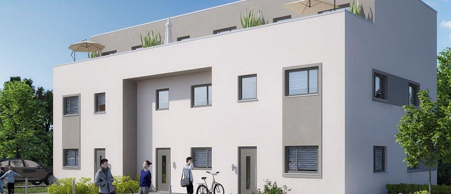 Neu in Dresden-Cotta: Carl Immermann - Neubau von 3 Reihenhäusern und 2 Doppelhaushälften