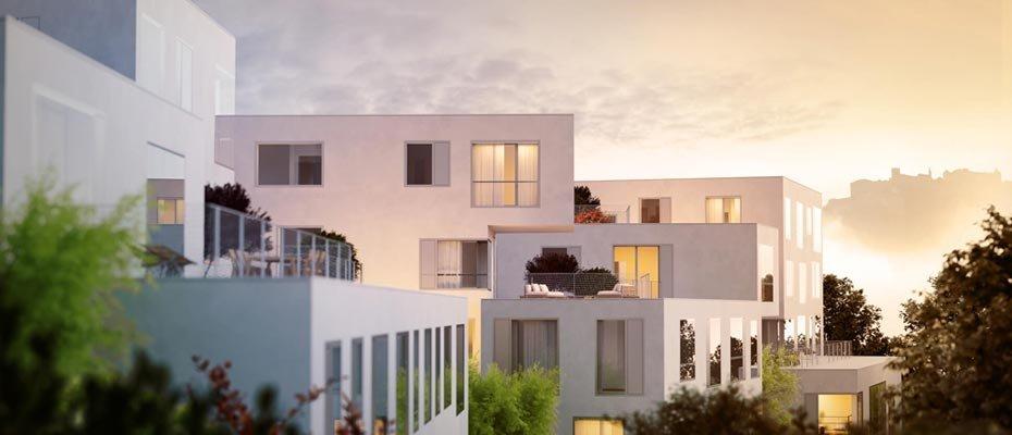 Imbergplatz - Neubau von 38 Eigentumswohnungen