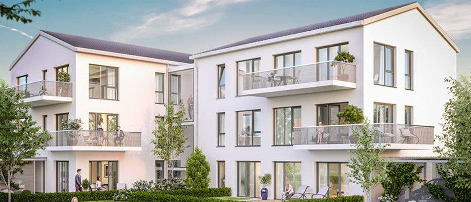 Neubau-Wohnungen: In der Aue - Neubau von 6 Eigentumswohnungen