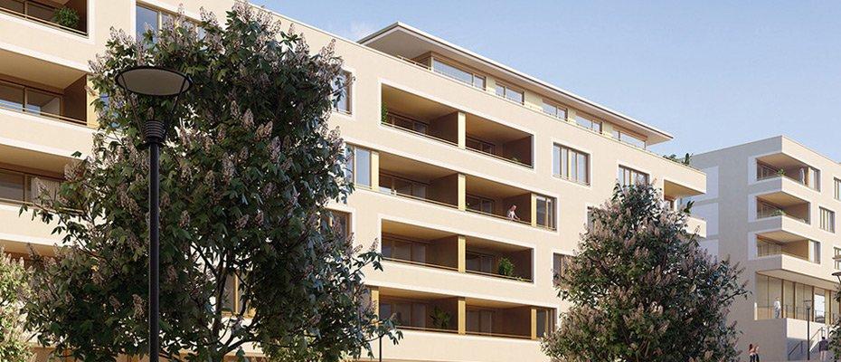 Ein neues Stück Passau: auers - Brauhöfe Passau - Neubau von 82 Eigentumswohnungen