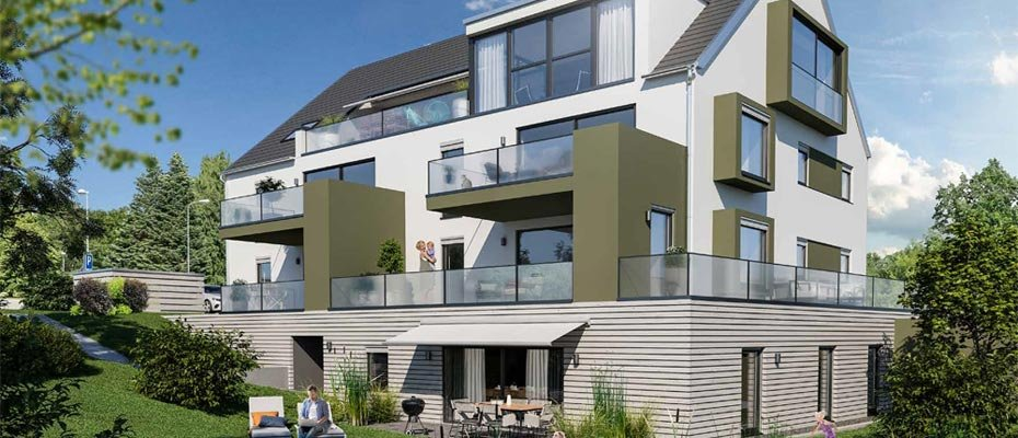 Neubauprojekt: RESIDENZ K9 Leitershofen - Neubau von 6 Eigentumswohnungen