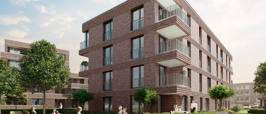 Neubau: WEITSICHT in der Wasserstadt Limmer - Neubau von 51 Eigentumswohnungen