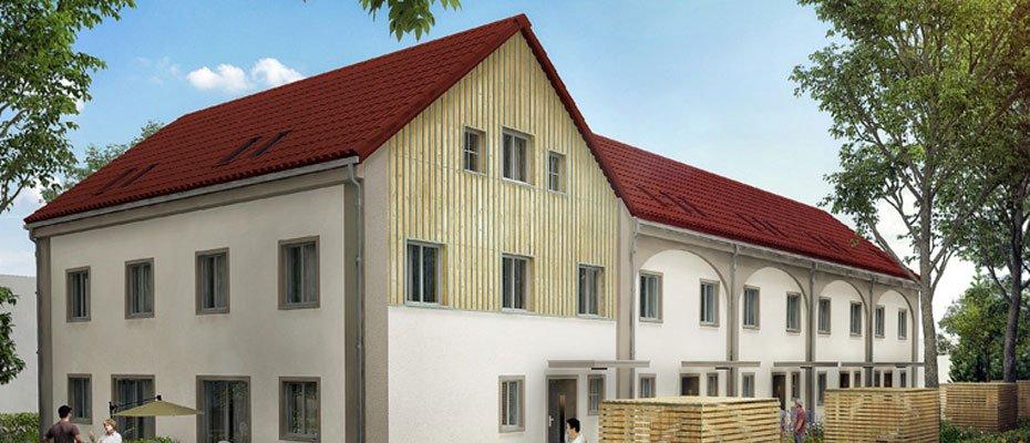 Neubauprojekt: Remisen Altlöbtau - Neubau von 6 Reihenhäusern