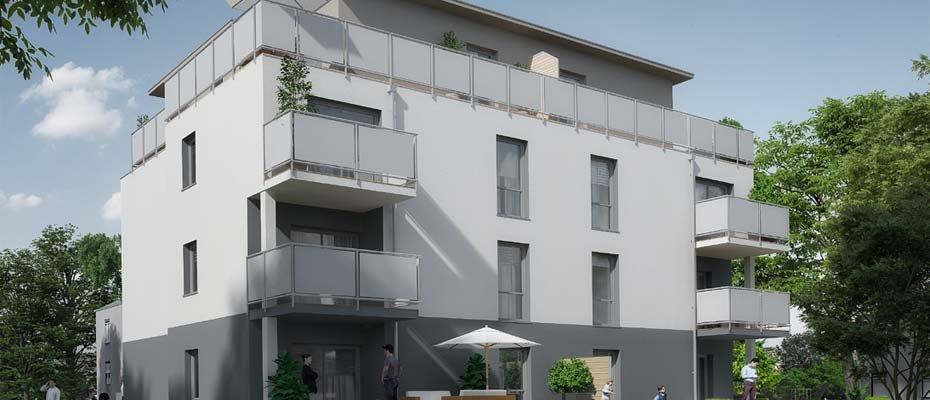 Neubau: Lange Straße 24 in Dresden-Naußlitz - Neubau von 6 Eigentumswohnungen