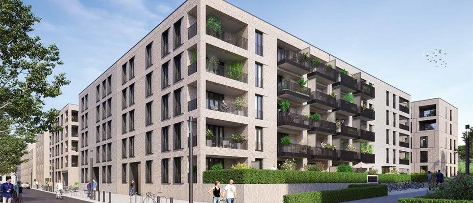 Vertriebsstart: PANDION 9 FREUNDE - Neubau von 117 Eigentumswohnungen