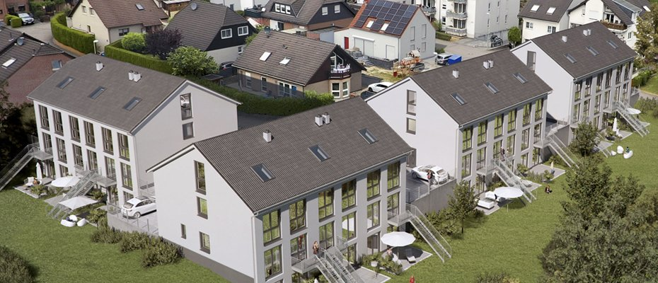 Neubauprojekt: Sonnenhang Burscheid - Neubau von 12 Einfamilienhäusern