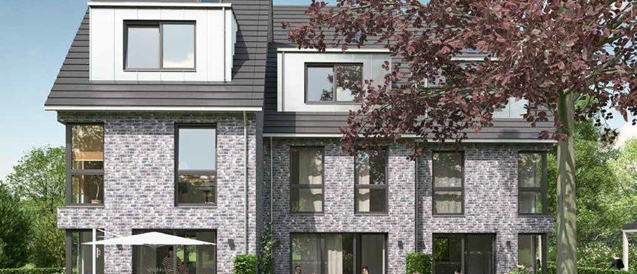 Neubauprojekt: Gussau Trio in Volksdorf - Neubau von 3 Stadthäusern