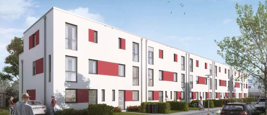 Neubauprojekt: Ostend 17 in Hildesheim - Neubau von 11 Reihenhäusern