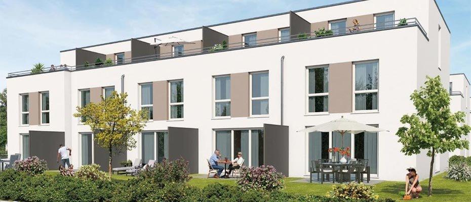 NEU: Luise-Bronner-Straße / Kirschengartenstraße: KfW 55 in Heilbronn - Neubau von 15 Reihenhäusern