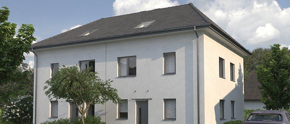 Neubau: Berliner Allee 18 - Neubau von 12 Doppelhaushälften