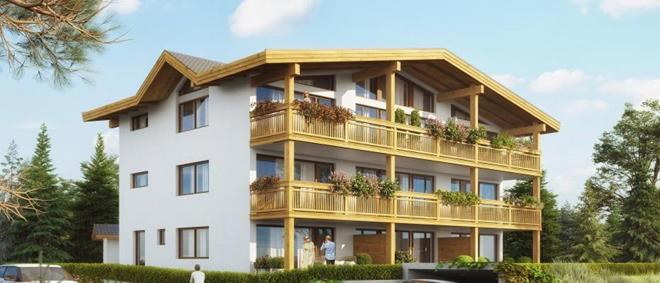 Ferien-Apartements Wettersteinstraße Tirol - Neubau von 9 Ferien-Apartments