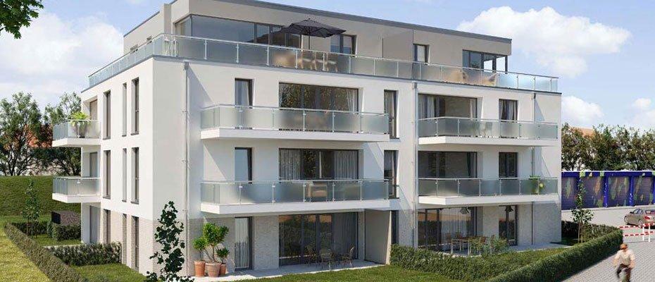 Nord Apartments Düsseldorf - Neubau von 14 Eigentumswohnungen