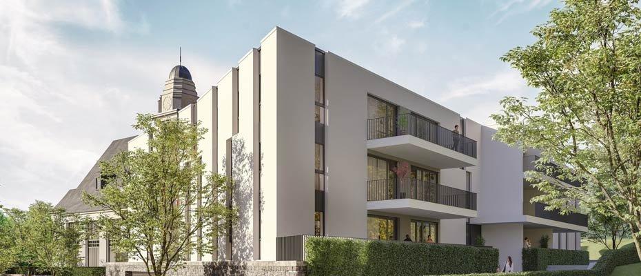 Neubau: Buschstraße 33 in Essen - Neubau von 21 Eigentumswohnungen