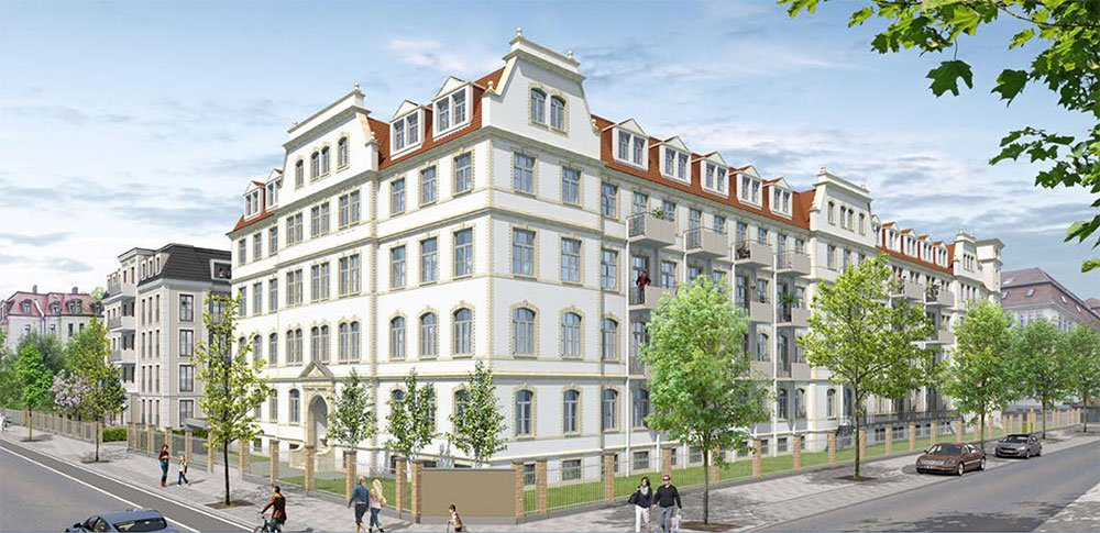 Verkaufsstart: Neue Tabakfabrik f6 Dresden – Bestandsanierung - Sanierung von 110 Eigentumswohnungen