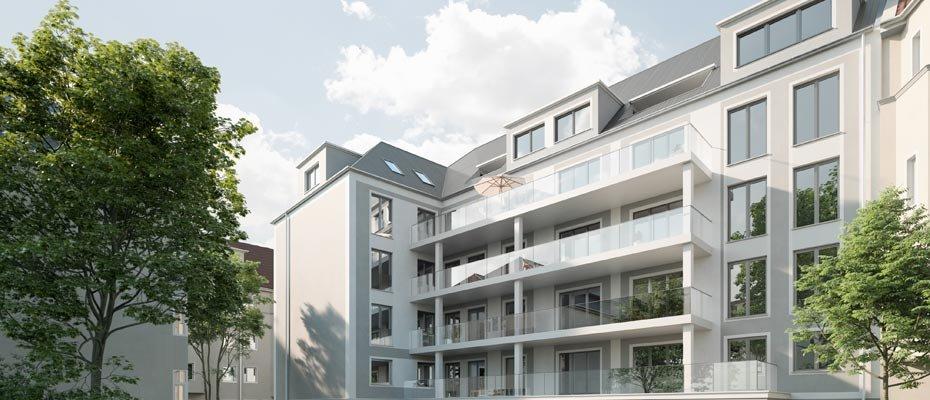 Neu: Hildebrand's Eck - Ihre Eigentumswohnung im Leipziger Süden - Neubau von 25 Eigentumswohnungen