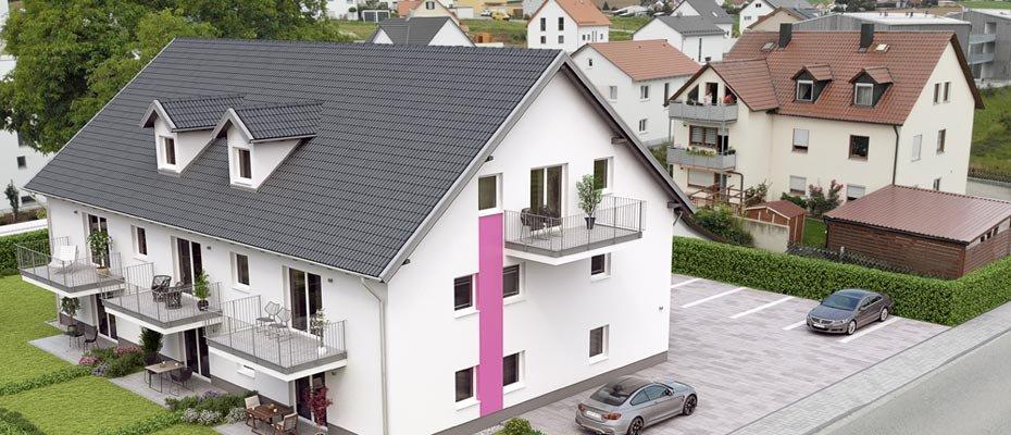Neu im Nordwesten Regensburgs: Project Five Lappersdorf - Neubau von 8 Eigentumswohnungen