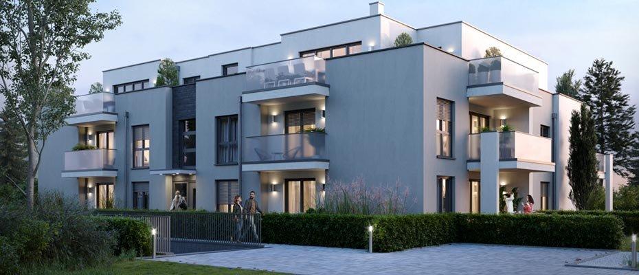 Neu in Bonn: Modern Living Hochkreuz - Neubau von 14 Eigentumswohnungen