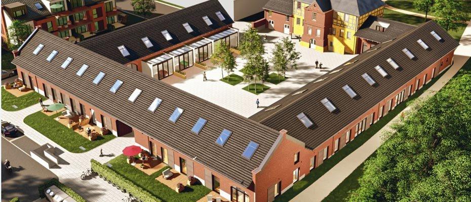 Denkmalgeschützte Hofanlage - Haus Rott in Troisdorf - Kernsanierung von 21 Eigentumswohnungen