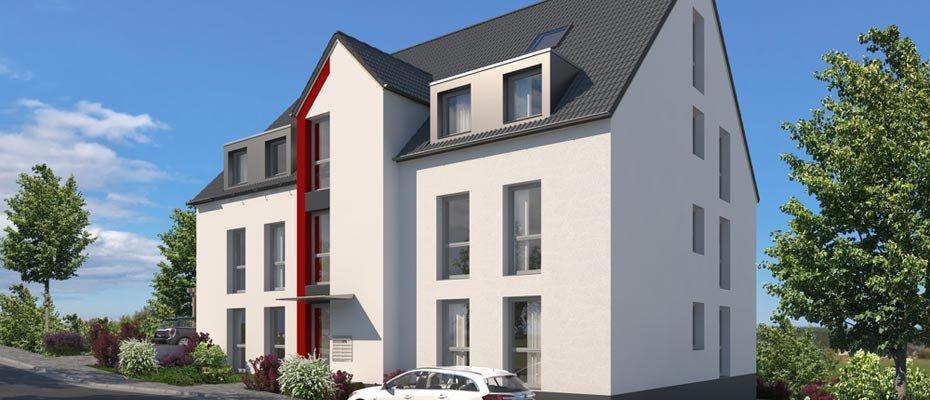 Neubauprojekt: Grandstraße 25 - Neubau von 6 Eigentumswohnungen