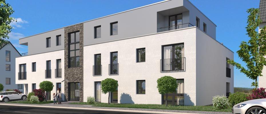 Neubauprojekt: Kamillusweg 50 in Essen-Heidhausen - Neubau von 10 Eigentumswohnungen