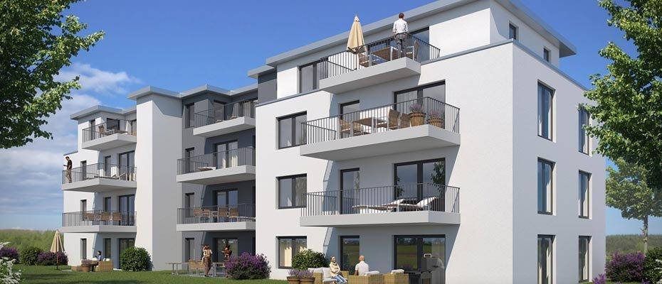 Neu: Am krausen Bäumchen – komfortable Adresse in Essen-Bergerhausen - Neubau von 12 Eigentumswohnungen