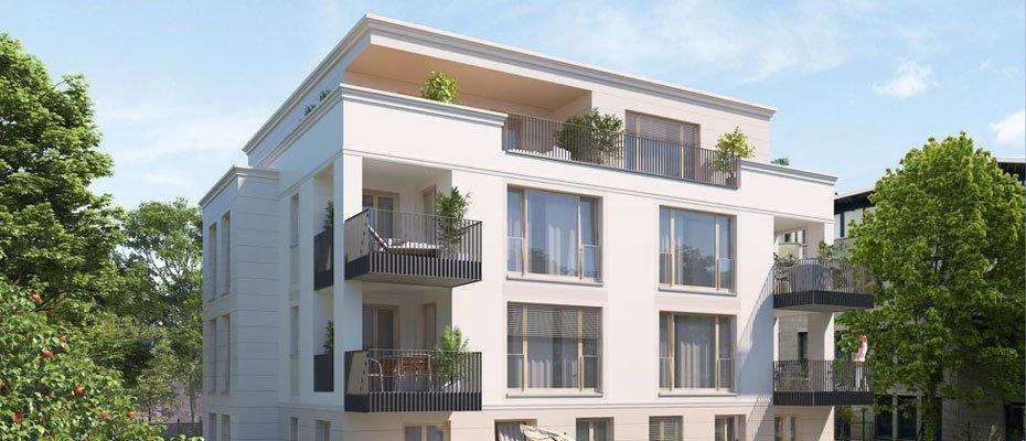 Noch 2 Wohnungen frei: Heubnerstraße 18 in Dresden-Striesen - Neubau von 9 Eigentumswohnungen