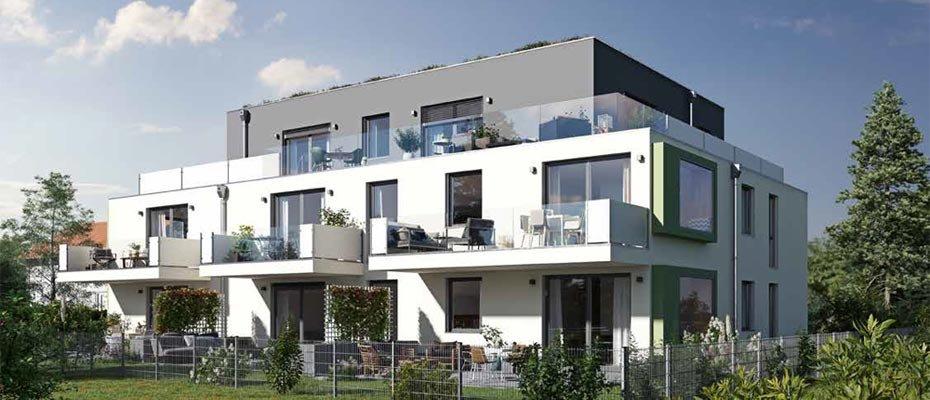 Wohnpalais Ingolstadt - Neubau von 7 Eigentumswohnungen