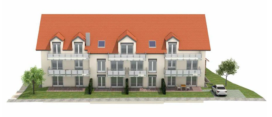 Wohnen im Herzen von Lappersdorf - Neubau von 13 Eigentumswohnungen