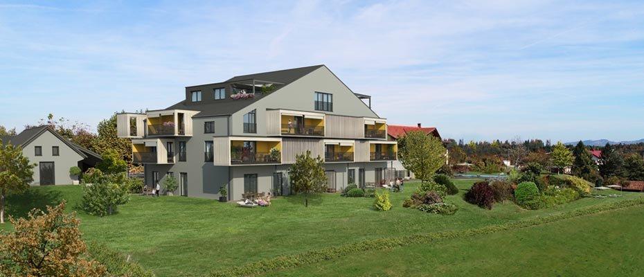 BERGHOF Weitblick - Neubau von 19 Eigentumswohnungen