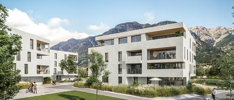 Seesiedlung Völs - Neubau von 19 Eigentumswohnungen