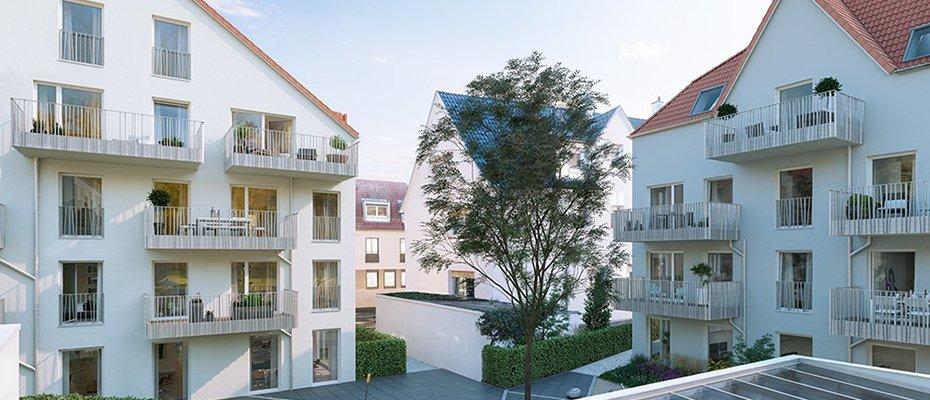 Neu in Ludwigsburg: Lucky Lu - Neubau von 38 Eigentumswohnungen